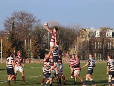 MATCH REPORT: Watsonians 2nd XV: 44 Heriots Blues: 5