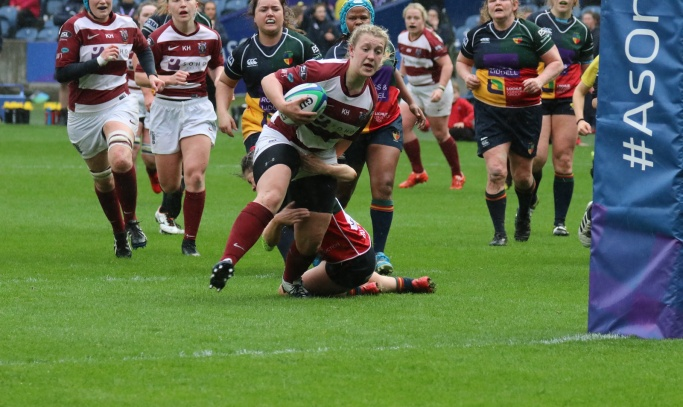Ailie completes personal trio of BT Murrayfield wins in style