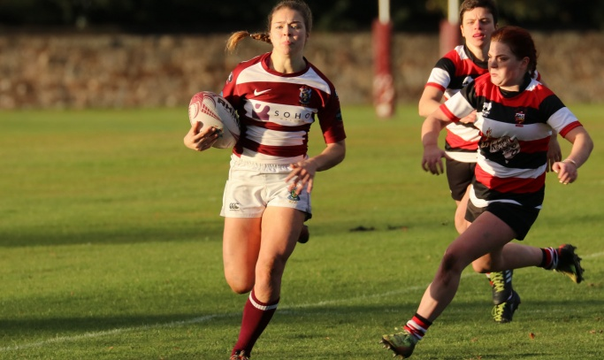 A convincing win for the Ladies v. Stirling County