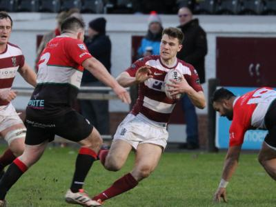 MATCH REPORT: Four try Rowland sets up home victory