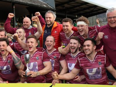 ​Flashback: The coaches take on the Melrose Sevens win of 2018