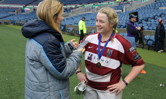 Feature: The Wright stuff! Molly enjoying her rugby more than ever