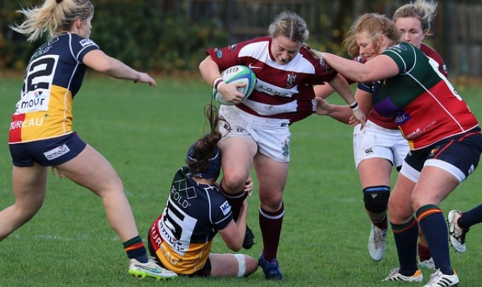 MATCH REPORT: A brilliant 2nd half comeback for the Ladies XV v Hillhead/Jordanhill