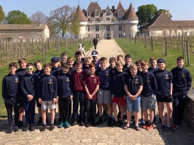 ​WATSONIAN WARRIORS P7 TOUR TO BORDEAUX – April 2019