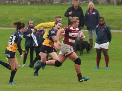 Cracking first half performance sets up Ladies XV for win over Hills